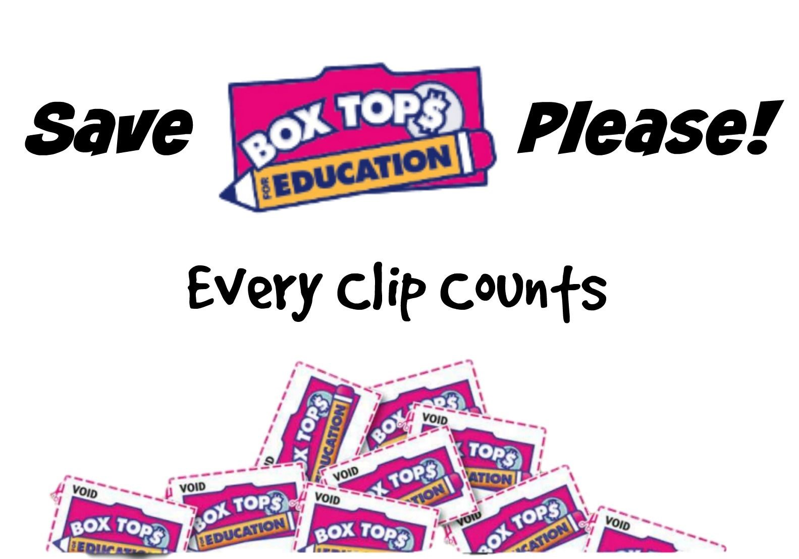 Bring in box tops