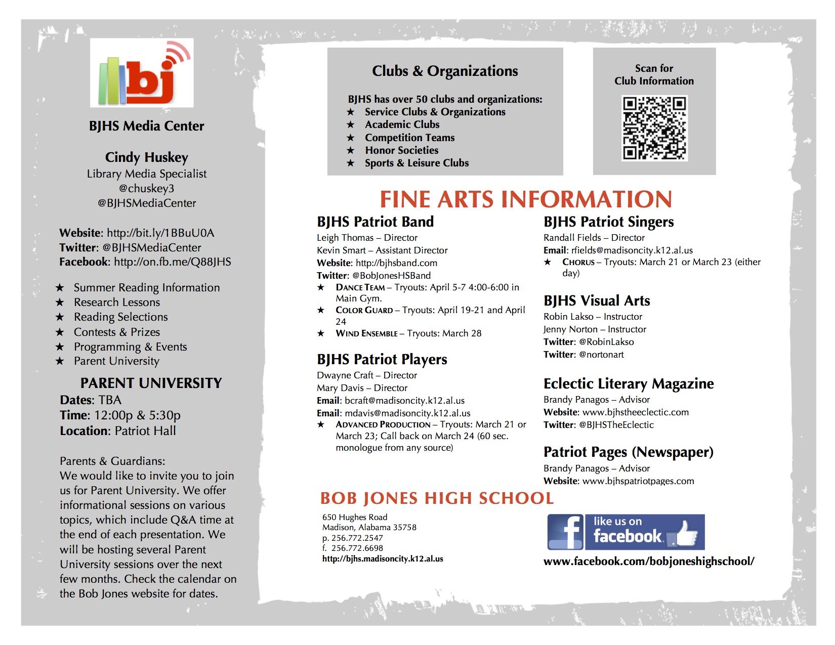 Fine Arts Information
