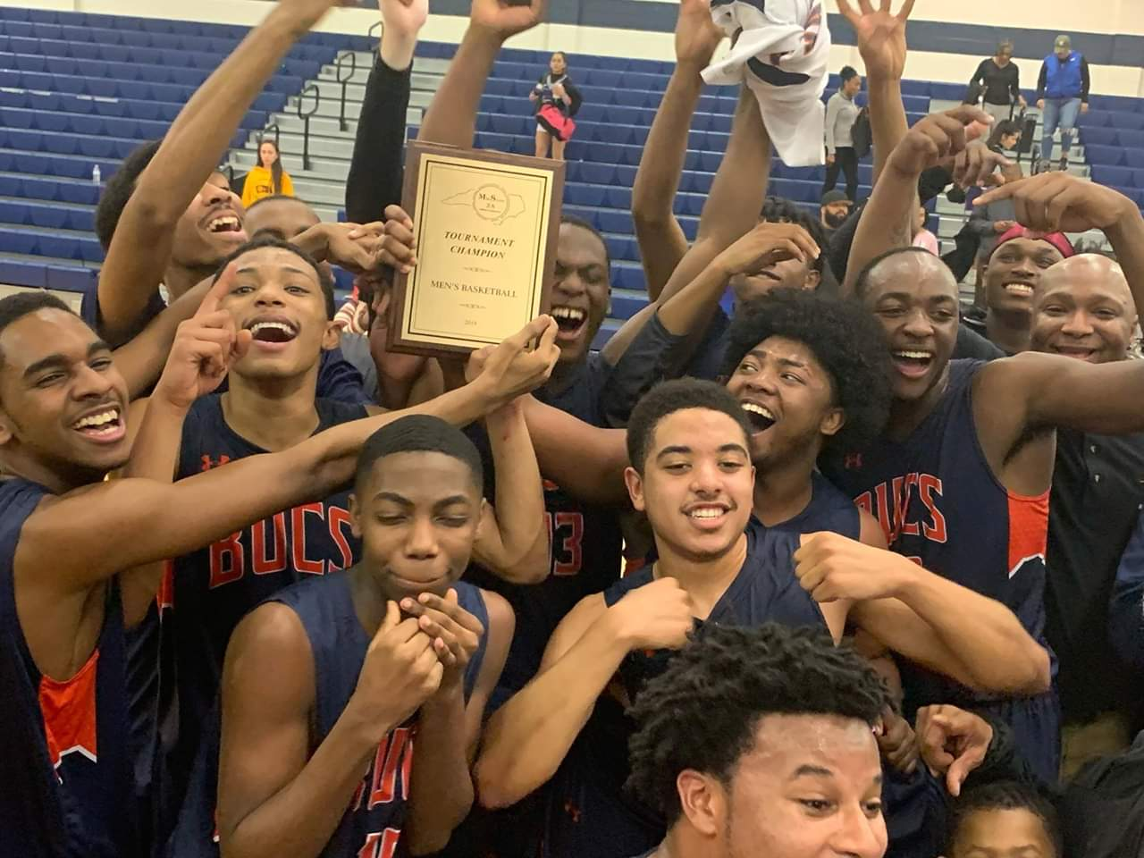 BYHS Men's Basketball Conference Champions