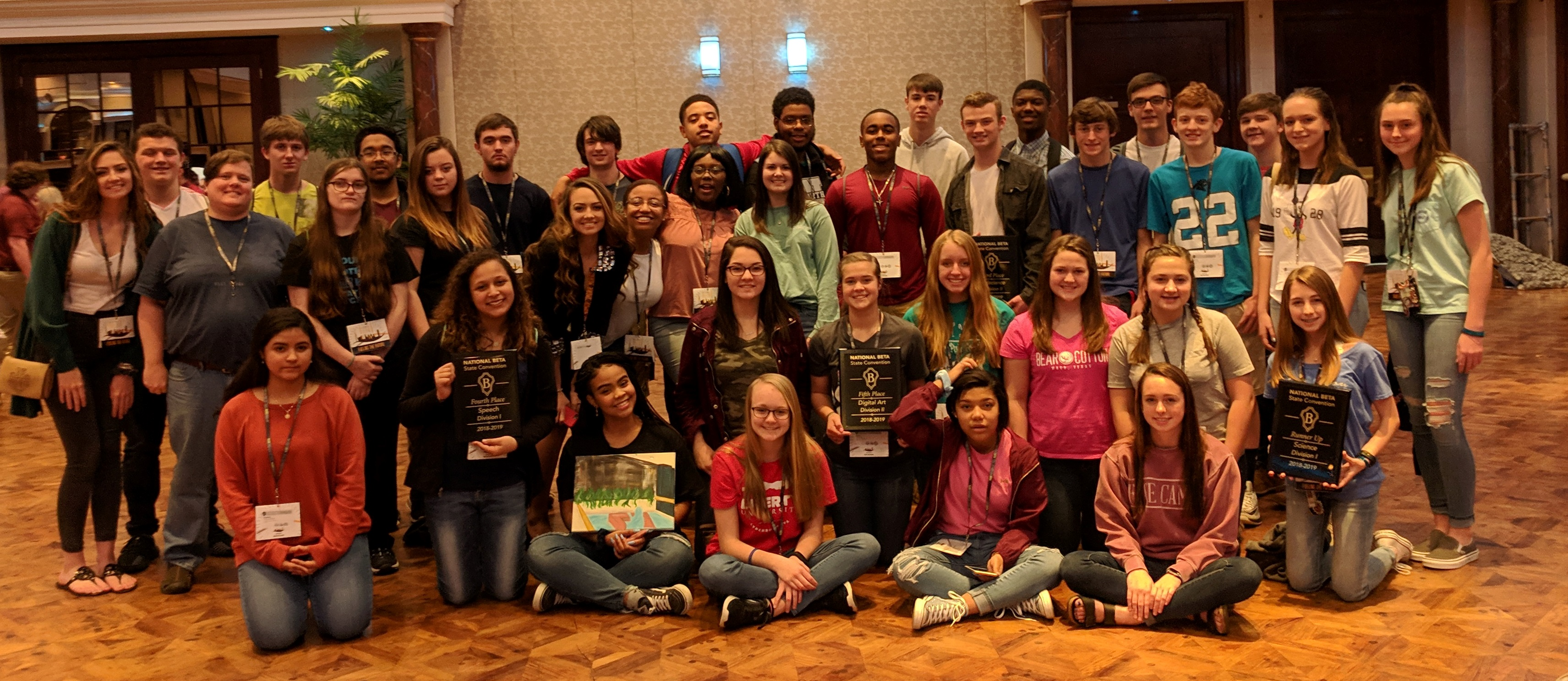 BYHS students at NC State BETA Convention