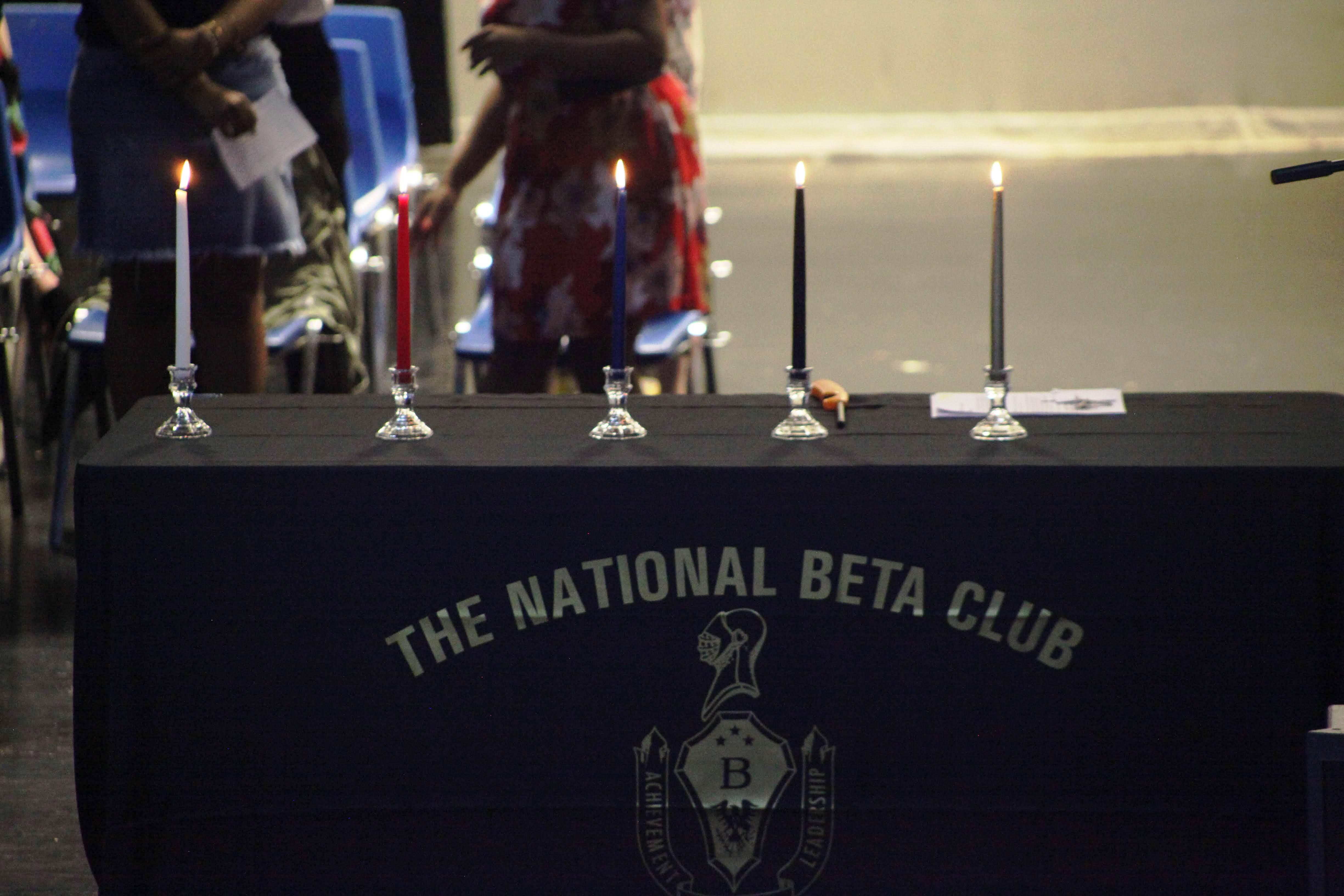 BYHS Senior Beta Club Induction