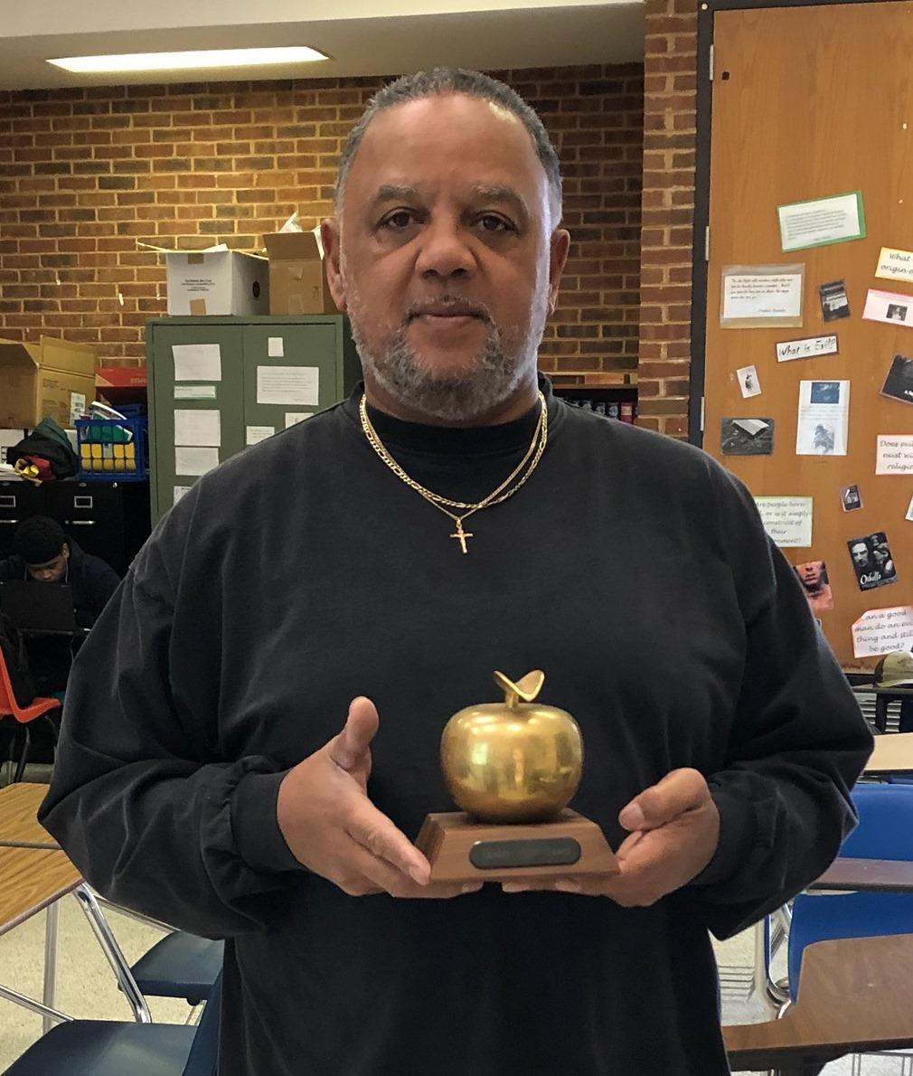 Mr. Vance Johnson, Golden Apple Award