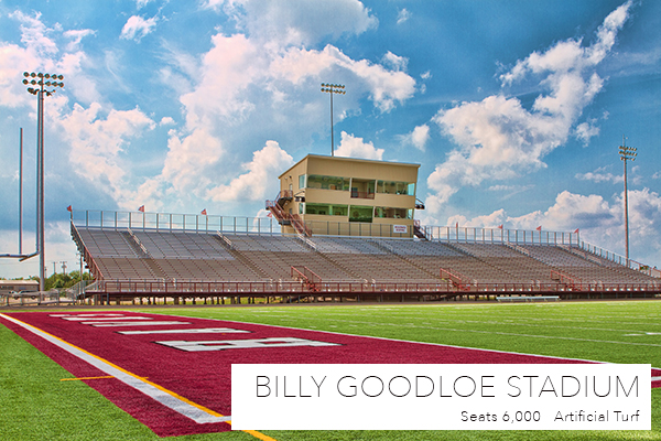 Goodloe Stadium in Red Oak ISD