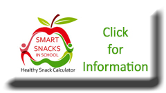 button to access information about smart snacks