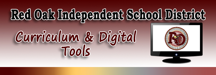 Curriculum and Digital Tools banner