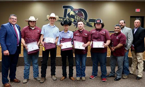 FFA students recognized as Ag Mechanics Reserve Champions