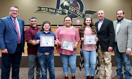 FFA students recognized as Breed Champions