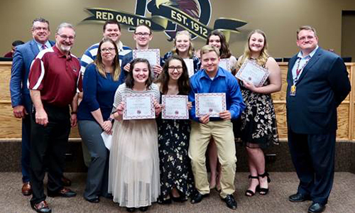ROHS One Act Play recognized for outstanding technical and acting honors