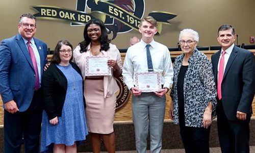 ROHS UIL Debate Team recognized as State Qualifiers