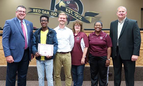 ROHS tennis player recognized as state qualifier