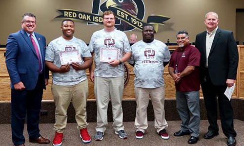 ROHS track athlete recongized as state qualifier in shot put and discus