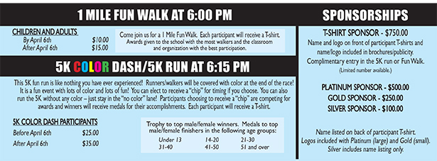 Fun Walk Run info 2