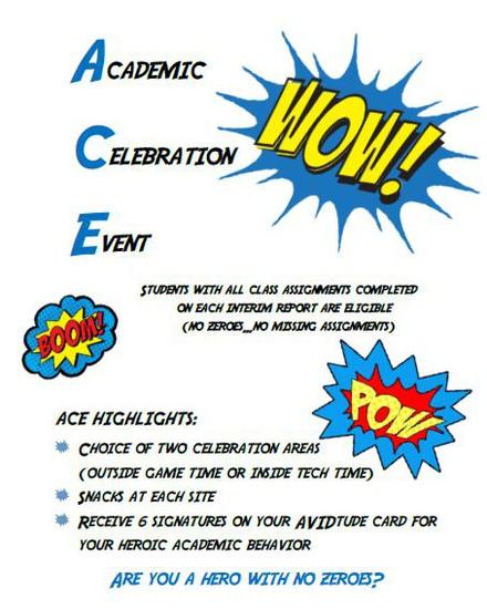 Academic Celebration Event Information