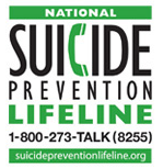 Link to Suicide Prevention Lifeline Website