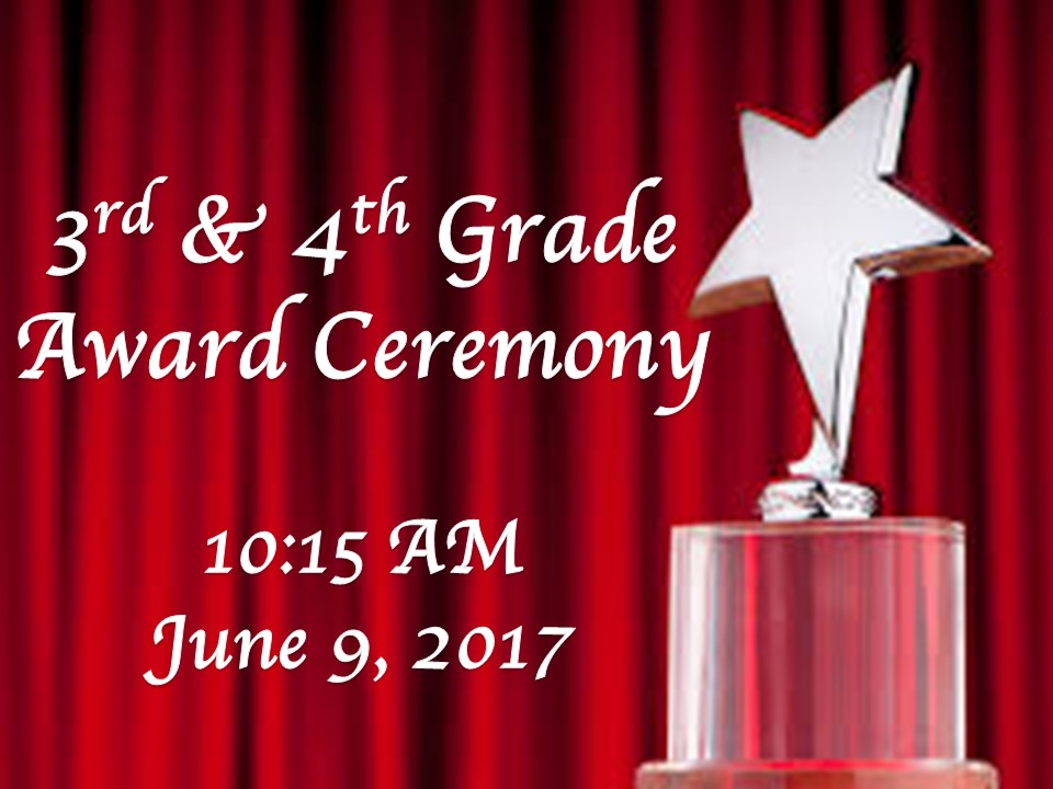 3rd and 4th Grade Awards ceremony video