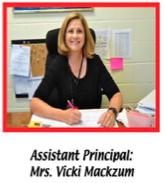 Assistant Principal Vickie Mackzum