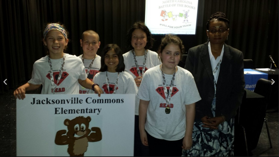 Battle of the Books Team Picture