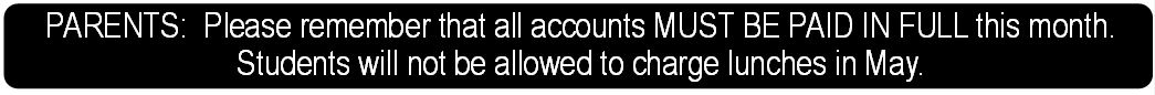Account Payment Notice
