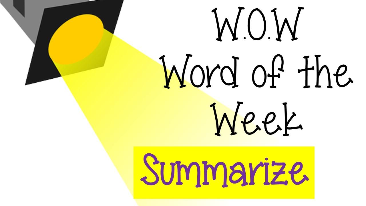 WOW-Summarize