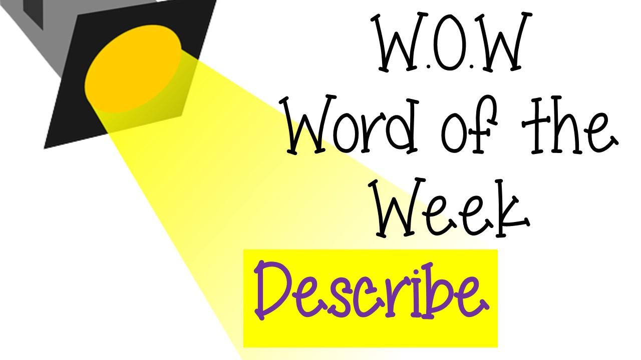 WOW-Describe