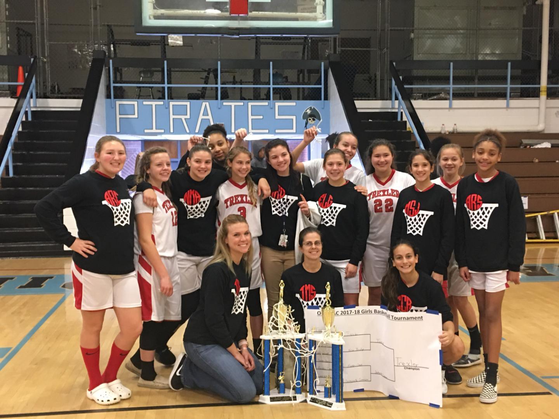 2017-18 OCS Regular Season & Tournament Girls Basketball Champions