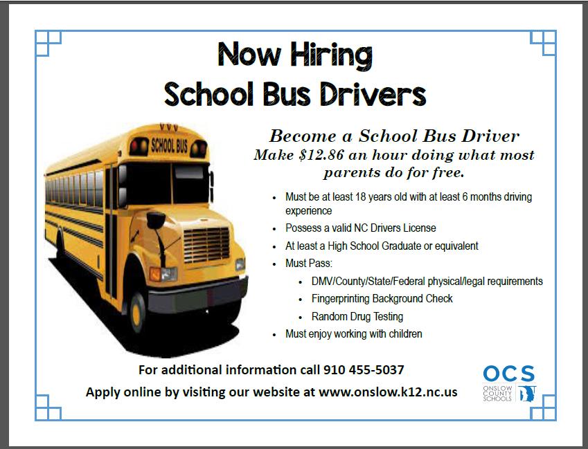 School Bus Driver Information