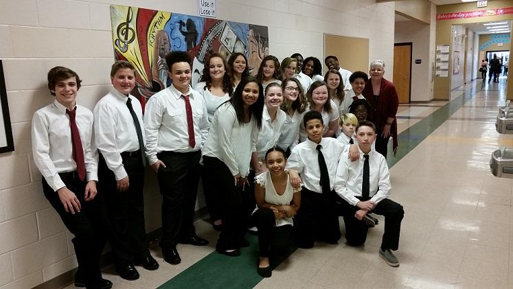 All County Chorus Members