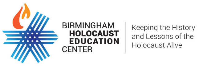 Logo for Birmingham Holocaust Education Center