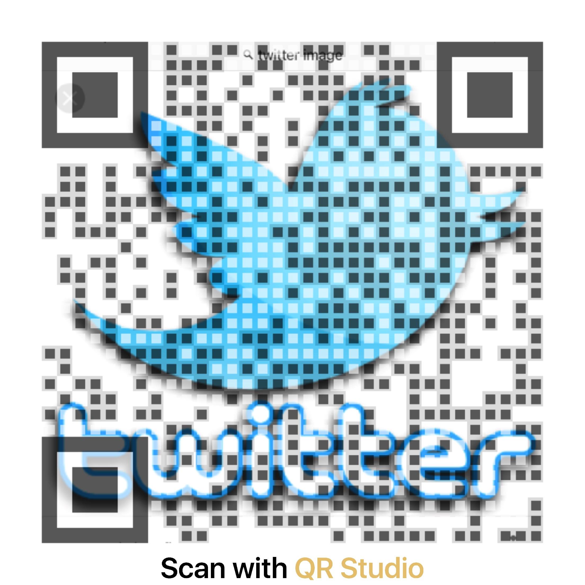 Twitter QR Code URL