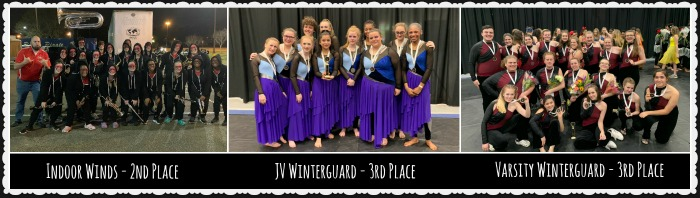 Indoor Winds and Winterguard