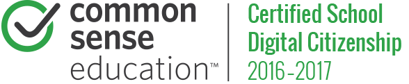 Common Sense Education Certified School