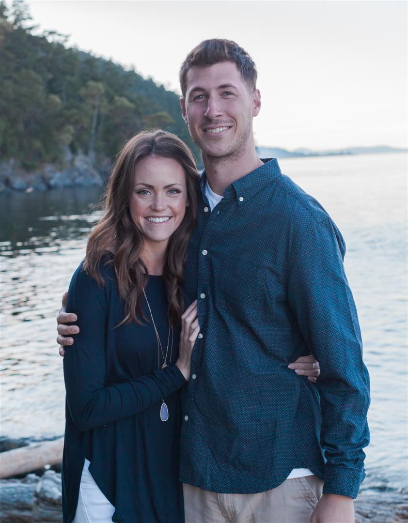 A picture of Mrs. McQuain and her husband, Taylor.