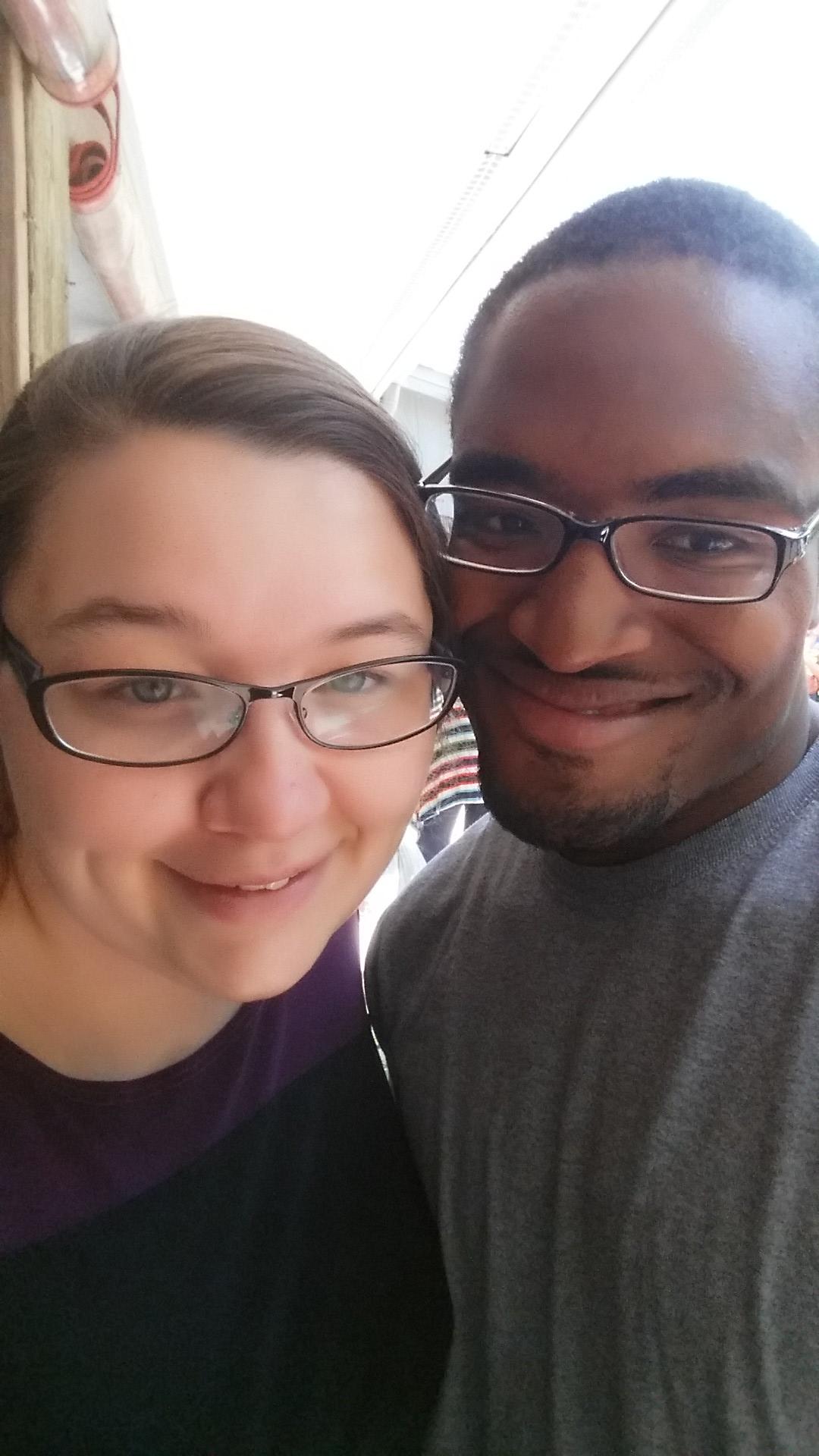 Dejavon and I at Myrtle Beach!