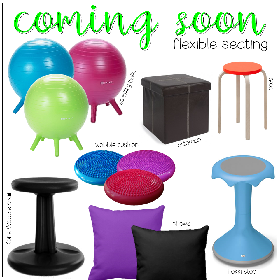 flexible seating coming soon