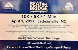 Semper Fi Fund Beat the Bridge Race