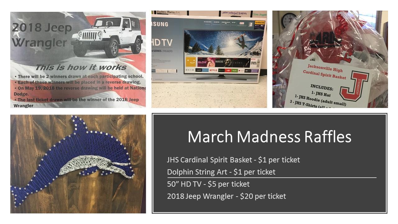 March Madness Raffles