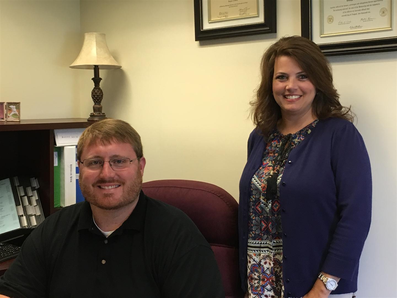 Principal Shane Rodgers and Assistant Principal Sandy Reid