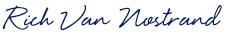 Rich Van Nostrand Signature