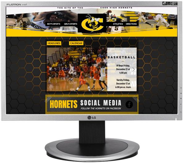 Cook High Sports Website