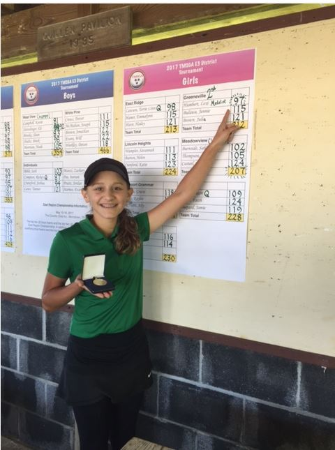 Picture of girls medalist