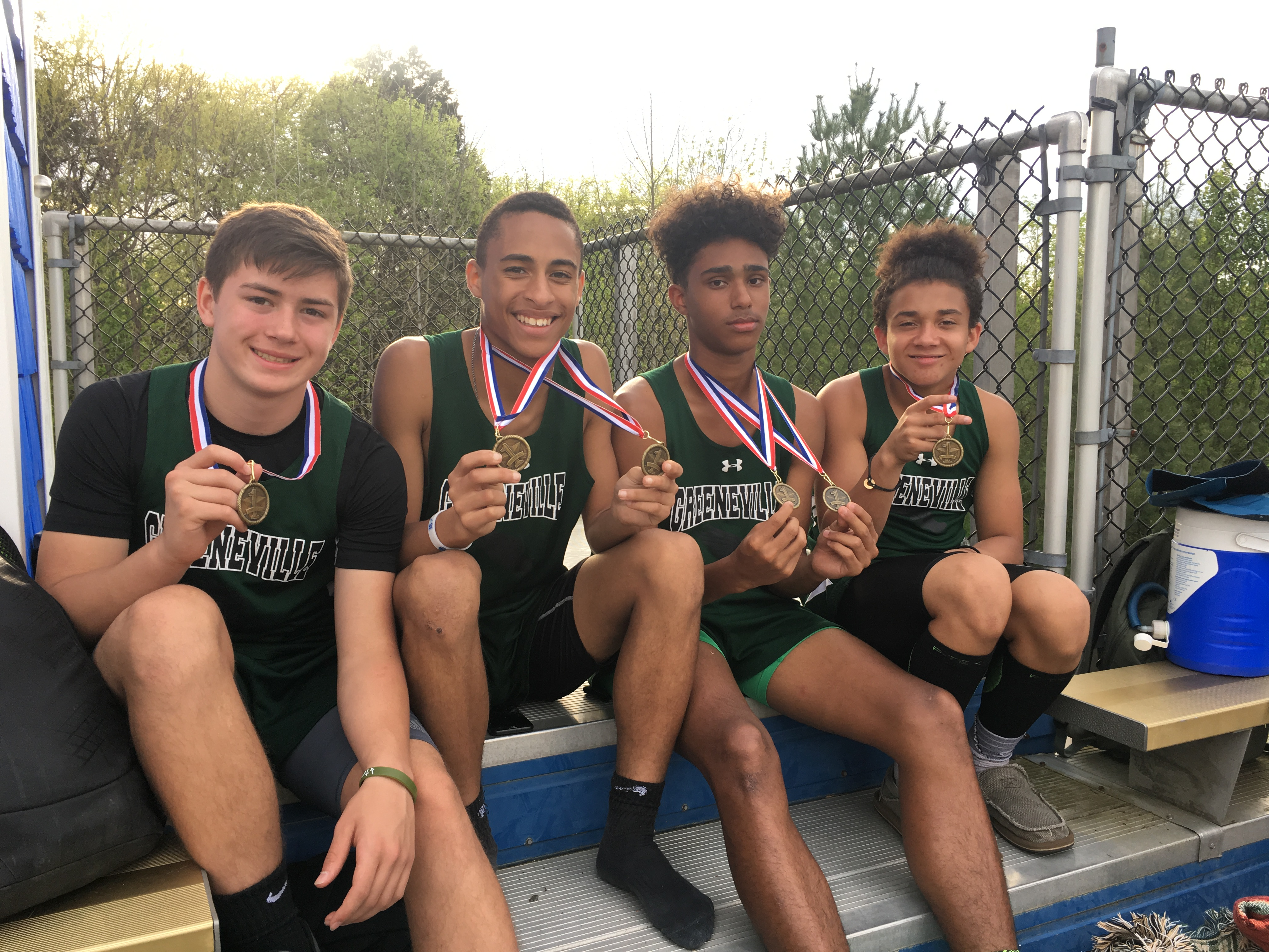 picture of boys with medals