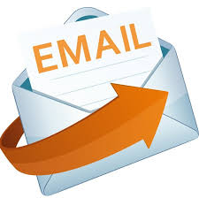 clipart that features email with an arrow