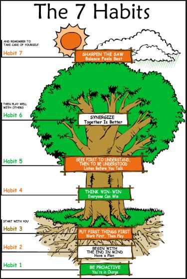 Leader In Me Seven Habits Tree