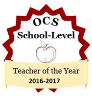 OCS School Level Teacher of the Year
