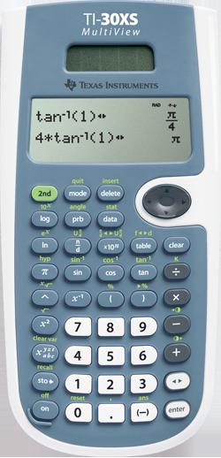 Texas instruments ti-30x iis 2-line scientific calculator white.