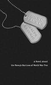 Book cover of the book A Novel About the Navajo Marines of World War Two