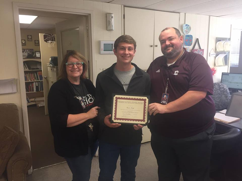 Curt Todd, CTE Student of the Month