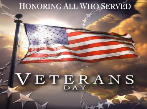 Veterans Day Observance Flag