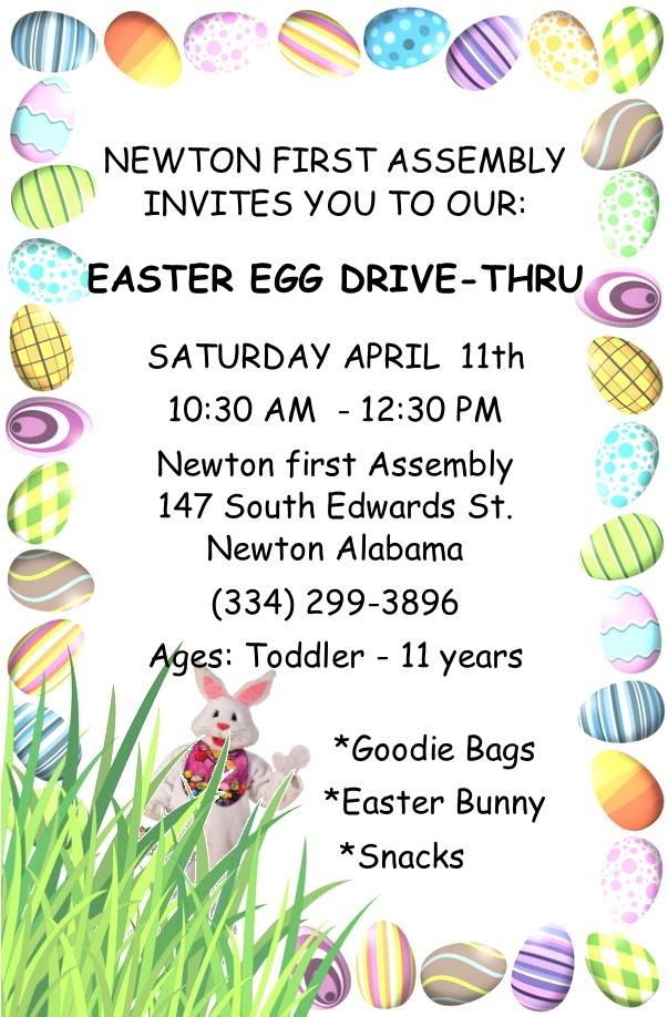 NFA Easter Egg Drive Thru