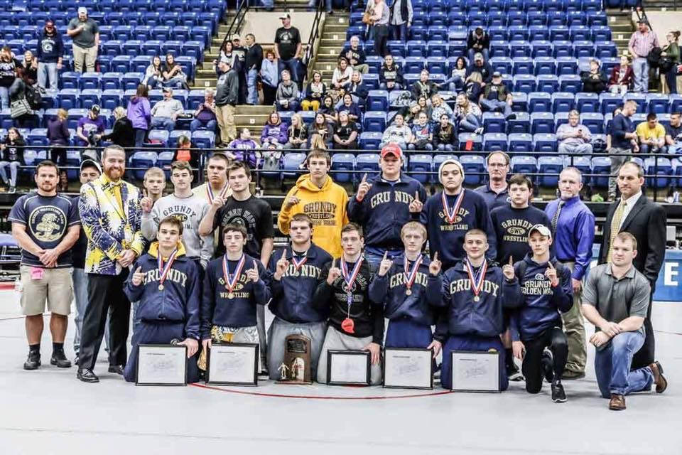 GHS Wrestling Team Wins 20th State Championship